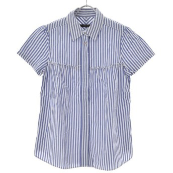 NOMBRE IMPAIR / ノンブルアンペール ストライプ柄 半袖シャツ