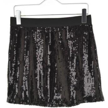 BCBG MAXAZRIA / ビーシービージー マックスアズリア スパンコール装飾 イージーミニ スカート
