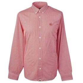プリティー グリーン Pretty Green メンズ シャツ トップス Classic Fit Gingham Shirt Red