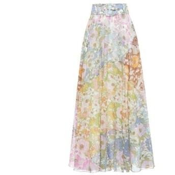 ジマーマン Zimmermann レディース ロング・マキシ丈スカート スカート super eight cotton-blend maxi skirt Mixed Floral