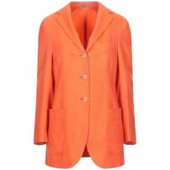 《セール開催中》BOGLIOLI レディース テーラードジャケット オレンジ 40 カシミヤ 100%
