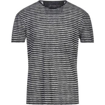 《セール開催中》JOHN VARVATOS ★ U.S.A. メンズ T シャツ ブラック XS リネン 55% / レーヨン 45%