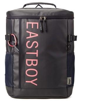 カバンのセレクション イーストボーイ リュック レディース スクエア ボックス型 通学 女子 防水 22L EAST BOY eby19 レディース ピンク フリー 【Bag & Luggage SELECTION】