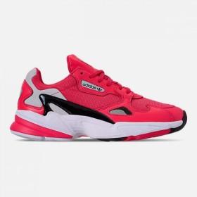アディダス ADIDAS レディース スニーカー シューズ・靴 adidas Originals Falcon Casual Shoes Shock Red/Crystal White