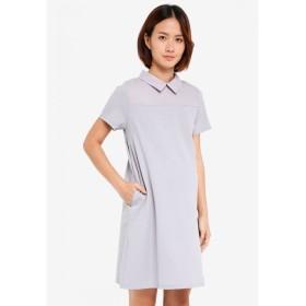 スプリング マタニティ Spring Maternity レディース ワンピース ワンピース・ドレス Maternity Short Sleeve Yeva Dress Grey