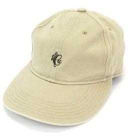 COOTIE クーティー ジェットキャップ コットン100% 綿 ロゴ 刺繍 無地 CAP ベージュ L 帽子 メンズ  中古 28002385