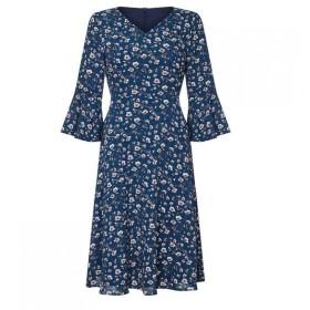 ユミ Yumi レディース ワンピース ワンピース・ドレス Floral Day Dress Teal