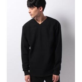 カンゴールリワード Vネックスウェットホッケープルオーバー ユニセックス ブラック L 【KANGOL REWARD】