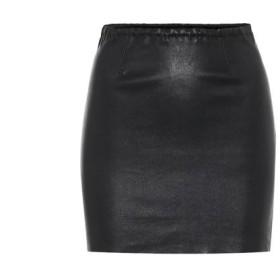 ストールス Stouls レディース ミニスカート スカート rita leather miniskirt Noir