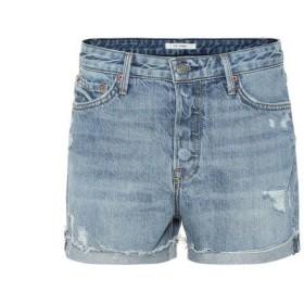 ガールフレンズ Grlfrnd レディース ショートパンツ ボトムス・パンツ Kerry high-rise denim shorts Playing For Keeps