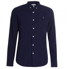 ファーラーヴィンテージ Farah Vintage メンズ シャツ トップス Fontella Cord Shirt True Navy