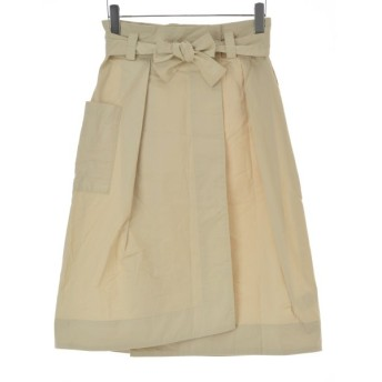 Simplicite / シンプリシテェ ウェザーミディラップタイトスカートロング スカート