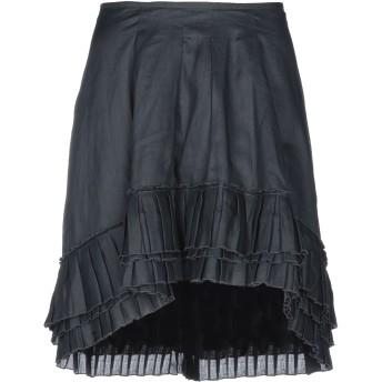 《セール開催中》DONDUP レディース ミニスカート ブラック 42 100% ラミー