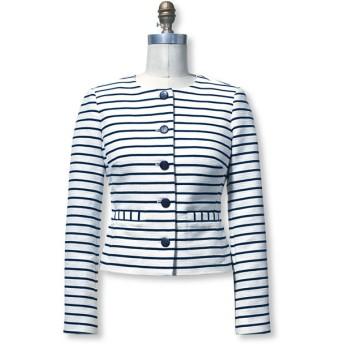 シグネチャー・カラーレス・ジャケット/Signature Collarless Jacket