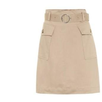 バウム ウンド ヘルガーデン Baum und Pferdgarten レディース ミニスカート スカート sora denim miniskirt Nomad Beige