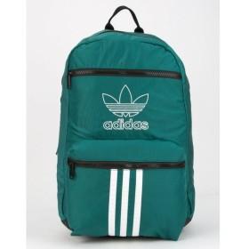 アディダス ADIDAS メンズ バックパック・リュック バッグ National 3-Stripes Green Backpack GREEN