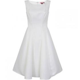チチ Chi Chi レディース ワンピース ミドル丈 ワンピース・ドレス Panelled Midi Dress White
