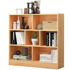 LVZAIXI マルチ階リビングルーム収納ラック - 創造読み込みエリア書棚木製マルチレベルストレージ (Color : E)
