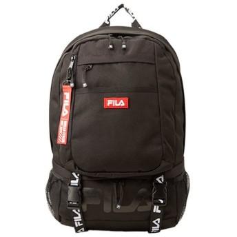 カバンのセレクション フィラ リュック メンズ レディース 女子 通学 23L FILA 7560 ユニセックス ブラック フリー 【Bag & Luggage SELECTION】