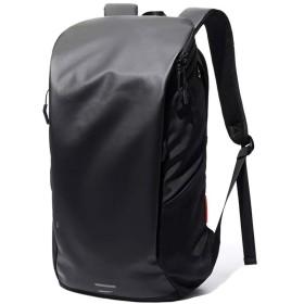 ファッション 男性/女性のファッションカジュアル大容量多機能マルチコンパートメントショルダーバッグ (色 : Black)