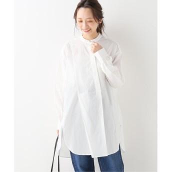 JOINT WORKS JW バンドカラーチュニックシャツ◆ ホワイト フリー