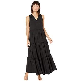 [Tommy Bahama(トミーバハマ)] ドレス・ワンピース Lena Tiered Maxi Sundress Black S [並行輸入品]