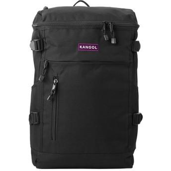 カバンのセレクション カンゴール ハロー リュック スクエア ボックス型 22L B4ファイル KANGOL 250 1251 メンズ パープル フリー 【Bag & Luggage SELECTION】