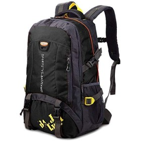 バッグパック 旅行 キャンプ ビジネス ハイキングバックパック、学生のバックパック、男性女性のための旅行バックパック防水通気性のトレッキングハイキング登山クライミングキャンプリュックサック(40L) 登山リュック