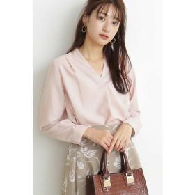 エヌナチュラルビューティベーシック ガルーダツイルシャツ レディース ピンク M 【N.Natural Beauty Basic】