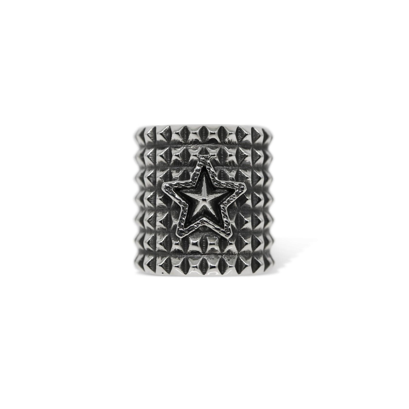 PUNK STAR RING [USD $1060]