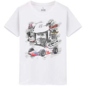 F1 Formula Racing KARTING メンズ/レディース Tシャツ/夏服 半袖 Tシャ