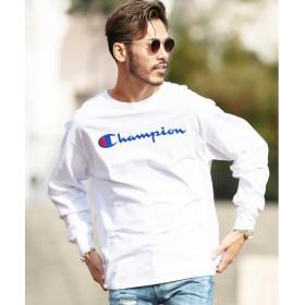 ジギーズショップ Champion(チャンピオン) lassicJersey Long SleeveTee / ロンT メンズ Tシャツ 長袖Tシャツ ロンティー クルーネック メンズ ホワイト L 【JIGGYS SHOP】