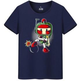 爆弾男 Bomberman ボンバーマン メンズ/レディース Tシャツ/夏服 半袖 Tシャ