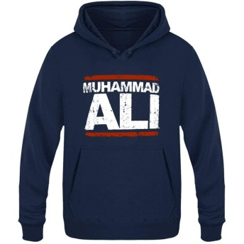 Muhammad Ali モハメドアリ ベルベットのフード付きのセーターポケット付き ユニセックスプラス 付き巾着パーカープルオーバースウェットシャツ プラス パーカー スポーツフーディプルオーバー XXL