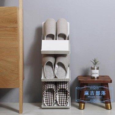 鞋架 日式多層可疊加鞋架簡易門口家用塑料鞋托宿舍收納鞋架分層整理架 樂活 全館八八折