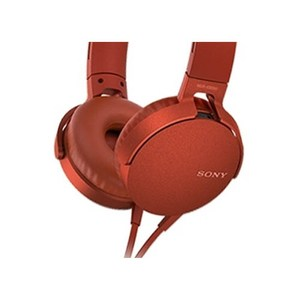 SONY 索尼 MDR-XB550AP EXTRA BASS 耳罩式耳機 紅