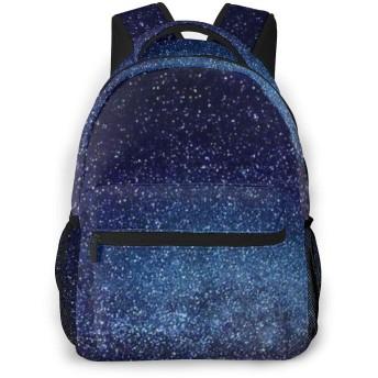 Starry Sky カメラリュック スタイリッシュな 多機能 カジュアルデイパック ポリエステル 通勤/通学/出張/旅行などに適用 メンズ女性