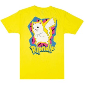 [リップンディップ] RIPNDIP CATCH EM ALL TEE [S] YELLOW