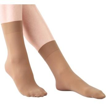 ベルーナ 【8足組】足底が綿でムレにくいソックス(厚手) ブラック レギュラー