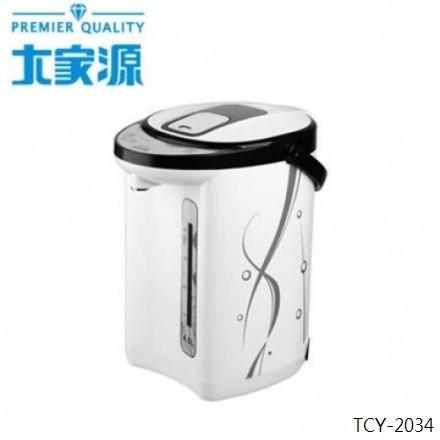 大家源 4L 二合一電熱水瓶 TCY-2034