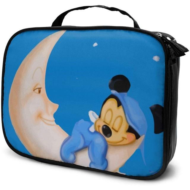化粧ポーチ メイクポーチ ミッキーミニー 大容量 防水 メイクブラシバッグ コスメポーチ ウォッシュバッグ 小物入れ コンパクト 機能的 仕切り 化粧品収納 かわいい おしゃれ 旅行 出張