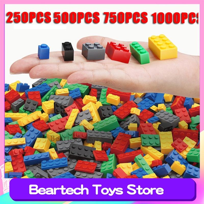 1000pcs 散裝積木創作者朋友系列DIY模型小磚教育玩具兒童愛好兼容樂高模型Creator