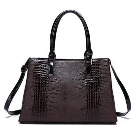 女の人 ヴィトン バッグ さんの肩ポータブルメッセンジャーバッグ大容量バッグ トートバック (Color : Brown)