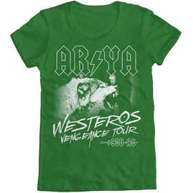 Arya Westeros Vengeance TourレディースTシャツ M