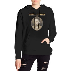 XQSMA Sturgill Simpson 女性たち Winter パーカー Design 長袖 セーター ブラック Autumn Fashion ブラック