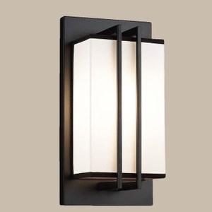 【PW居家燈飾】 現代美學布罩壁燈/單燈