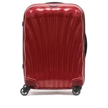 (Samsonite/サムソナイト)【正規品10年保証】サムソナイト スーツケース 機内持ち込み Samsonite Cosmolite Spinner 55 36L 1~2泊 V22-302/ユニセックス レッド