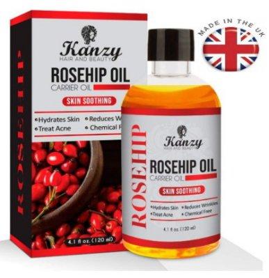 現貨英國原裝120ml 天然玫瑰果油 隨貨贈送滴管頭 冷壓