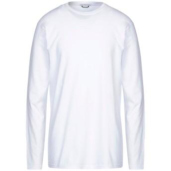 《セール開催中》GREY DANIELE ALESSANDRINI メンズ T シャツ ホワイト S コットン 90% / ポリウレタン 10%