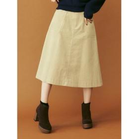 (dazzlin/ダズリン)コールAラインスカート/レディース アイボリー